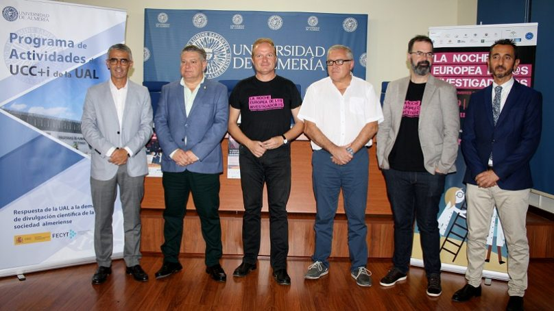 Ciencia al aire libre en Almería con la VIII Noche Europea de los Investigadores