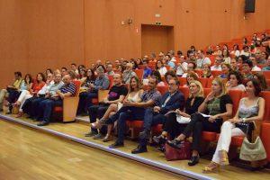Asistentes a las Jornadas de Innovación Docente de la UAL.