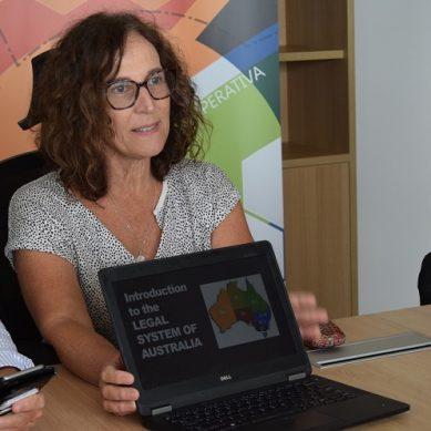Almería y Australia comparten su preocupación por la energía y el agua