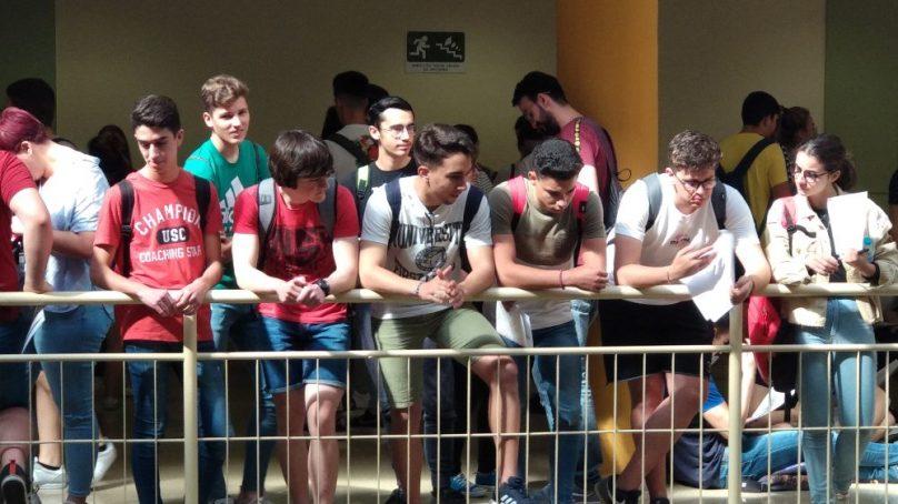 Más de 500 estudiantes realizan las pruebas de acceso a la Universidad en Jaén