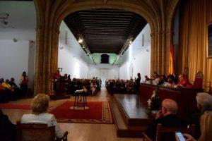 Pilar Aranda preside el acto oficial de apertura de la UGR