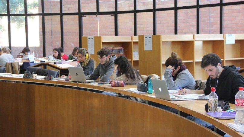Bibliotecas preparadas para los exámenes