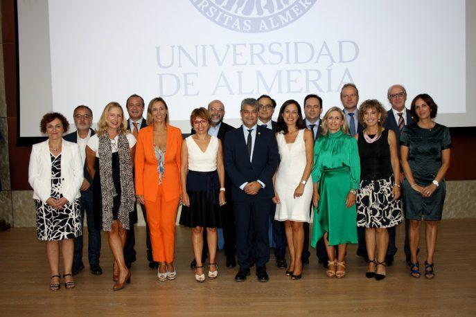 Nuevo equipo de Gobierno de la UAL.