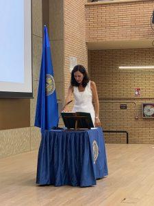 Mª Angustias Martos, vicerrectora de Ordenación Académica.