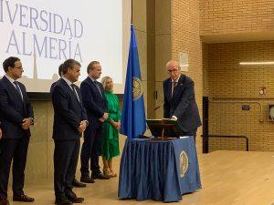 Javier Lozano, vicerrector de Deportes, Sostenibilidad y Universidad Saludable.