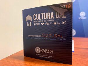 Programación Cultural 2019/2020 de la UAL para el primer cuatrimestre.