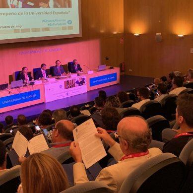 La labor y el futuro de las universidades españolas, a debate en la UAL