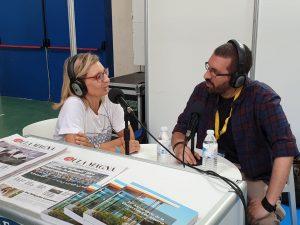 Entrevistamos a la vicerrectora Maribel Sánchez.