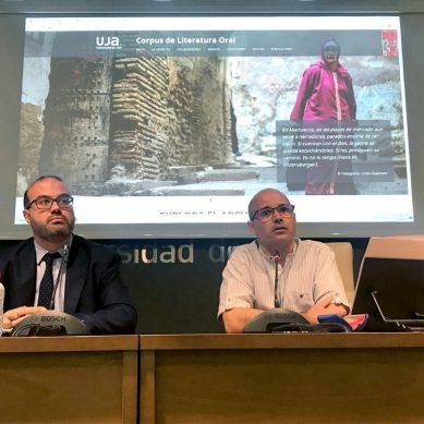 La UJA pone en marcha una plataforma electrónica para rescatar del olvido la literatura oral