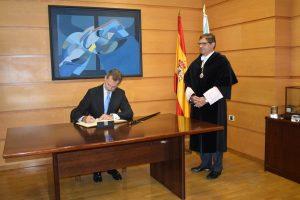 El Rey ha presidido el acto de apertura del Curso de las Universidades Españolas 2019-2020 en la Universidade da Coruña
