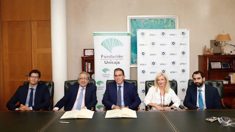 La Fundación Unicaja y la Universidad de Málaga firman un convenio para impulsar la investigación