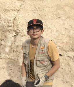 Juan Martín Aguilera, estudiante del Grado de Historia en Egipto