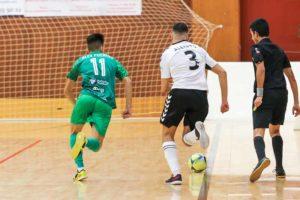 El BeSoccer CD UMA Antequera mantiene el rumbo correcto con otra victoria de mérito a domicilio tras una goleada al Rivas Futsal