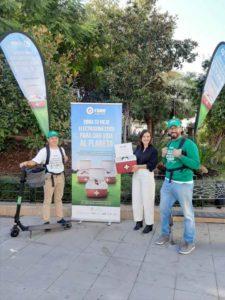 """El Secretariado de Campus Saludable de la UGR colabora en la segunda edición de la campaña """"Dona Vida"""" para sensibilizar sobre el reciclaje de Residuos de Aparatos Eléctricos y Electrónicos"""