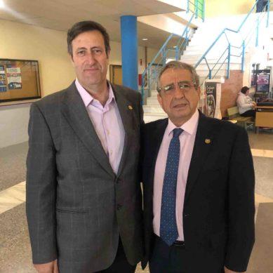 José Ángel Narváez presenta su candidatura al Rectorado de la UMA junto a Ernesto Pimentel