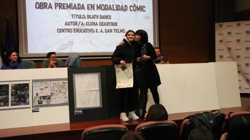 Dos alumnas de San Telmo ganan el concurso de cómic e ilustración del Fancine