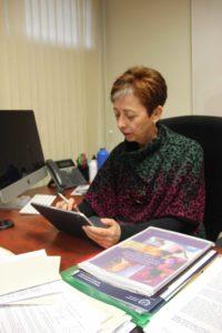 Isabel Jiménez, delegada del rector para la igualdad en la UMA