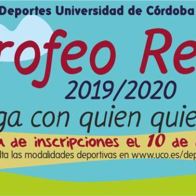 Plazos de inscripción para el Trofeo Rector de la UCO