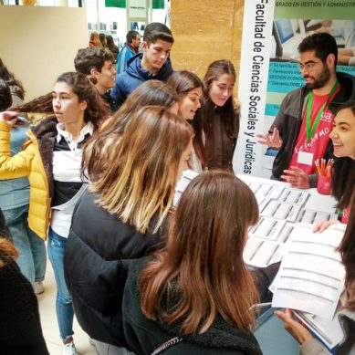 Primera toma de contacto con la vida universitaria en los Encuentros UJA