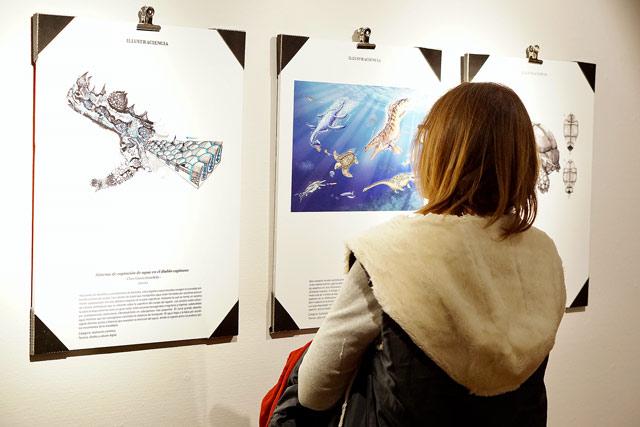 'Ilustraciencia', 40 obras que describen el arte de ilustrar la ciencia