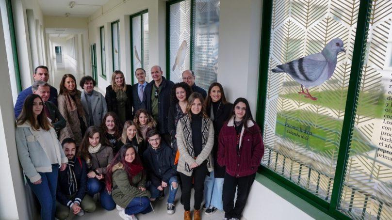 """El Campus de Rabanales inaugura """"Pasillos por la biodiversidad"""", una iniciativa para evitar la mortandad de aves por colisión"""