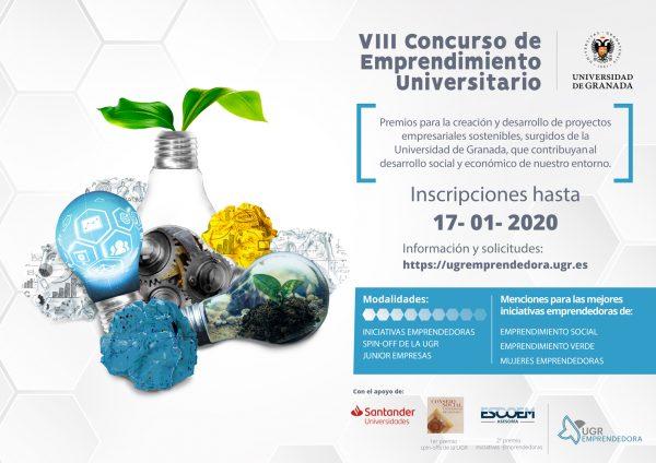 VIII Concurso de Emprendimiento Universitario de la UGR