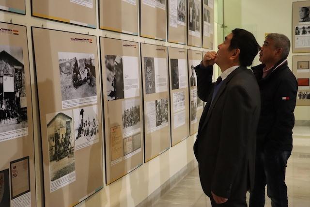 El Rectorado de la UMA acoge una exposición sobre las brigadas internacionales en la Guerra Civil
