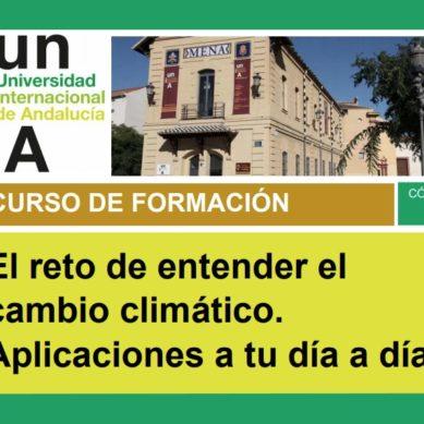 La UNIA organiza en Málaga un curso para conocer y medir el impacto del cambio climático