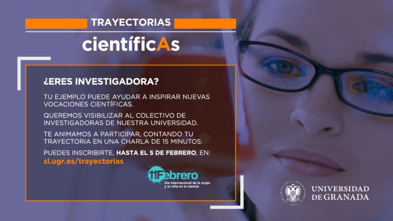 ¿Eres investigadora? mañana es el último día para inscribirse en Trayectorias científicAs