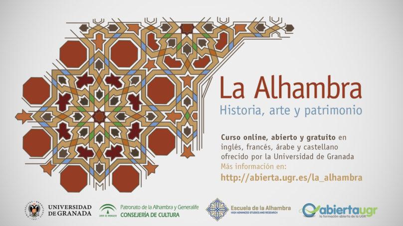 Conoce todo sobre la Alhambra en el curso gratuito ofrecido por la UGR