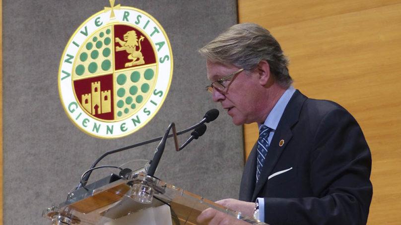 Francisco Vañó seguirá otros cuatro años al frente del Consejo Social de la UJA
