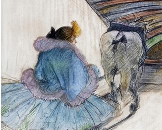 Toulouse-Lautrec y el circo llegan al Museo Carmen Thyssen de Málaga