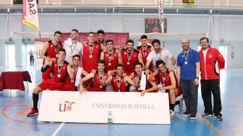 El oro del CAU2020 de Baloncesto Masculino se queda en Sevilla
