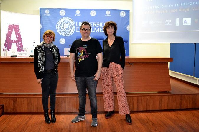 La poesía regresa a tierras almerienses con la Facultad José Ángel Valente