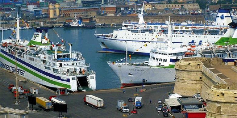 Los Erasmus en Italia podrán volver mañana en barco hasta Barcelona