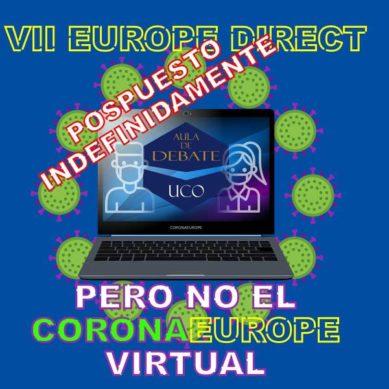 CoronaEurope: el Aula Debate de la UCO organiza un encuentro virtual por el aplazamiento del VII Torneo Europe Direct
