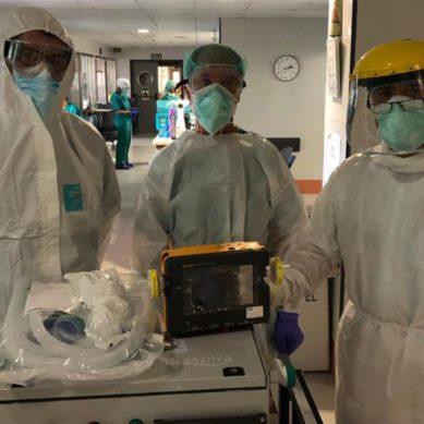 Un nuevo respirador para afrontar la crisis sanitaria del coronavirus