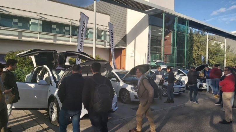 El campus de Rabanales acoge una jornada de puertas abiertas sobre vehículos eléctricos