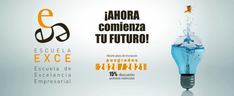La Escuela EXCE presenta sus posgrados para el curso 2020/2021