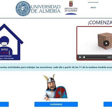 EmoCovid, la 'vacuna emocional' de UAL y Diputación contra el confinamiento