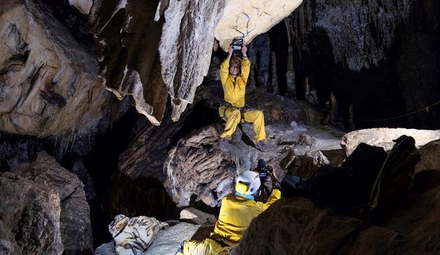 Visitar la Cueva de Nerja en 3D será posible gracias a la UCO