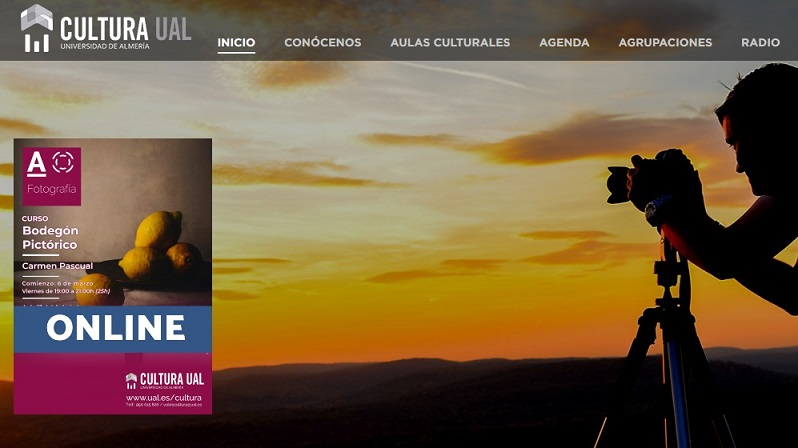 Las actividades culturales de la UAL 'se digitalizan' durante el confinamiento