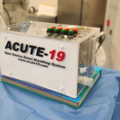 La UCO colabora en el desarrollo de 'ACUTE-19', un respirador mecánico para pacientes con coronavirus