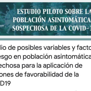 Científicos de la UMA desarrollan una encuesta para estudiar la difusión del COVID19