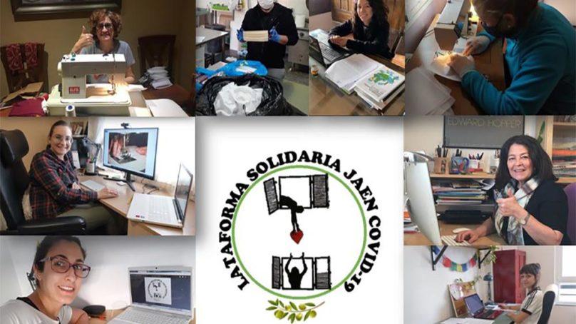 Profesores y estudiantes de la UJA se suman a la Plataforma Solidaria Jaén-Covid 19