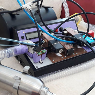 Investigador de la UJA desarrolla un respirador artificial más versátil que los modelos convencionales