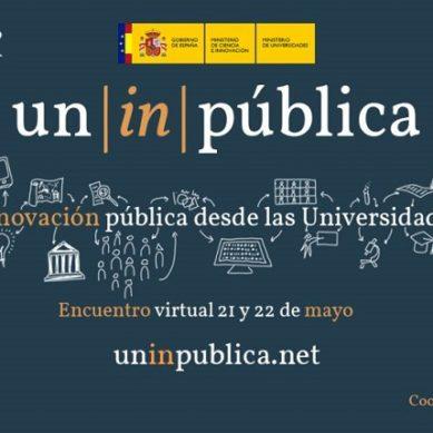 Innovación pública y universidades, a debate en el Encuentro iberoamericano virtual de la UGR