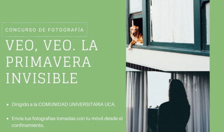 """Concurso de Fotografía """"Veo-Veo. La primavera invisible"""""""
