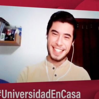 """José Ramón García: """"En nuestra universidad nos sentimos respaldados y se nos ha tenido en cuenta"""""""