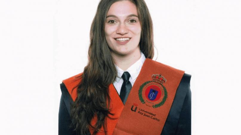 Anca Georgiana, egresada de la URJC, mejor TFM de investigación en ciberseguridad